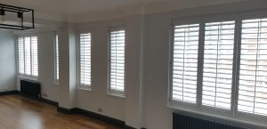 Interior Shutters Kensington, London W8