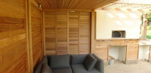 Exterior Patio Shutters, Epsom