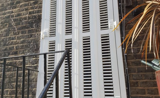 Exterior Security Shutters